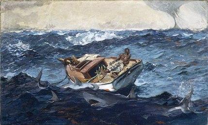 Winslow Homer - De Golfstroom - 1899