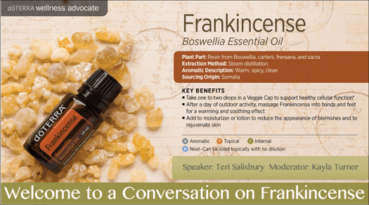Frankincense Session