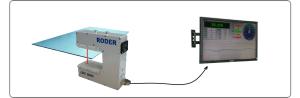 Spessimetro LASER LTM1000