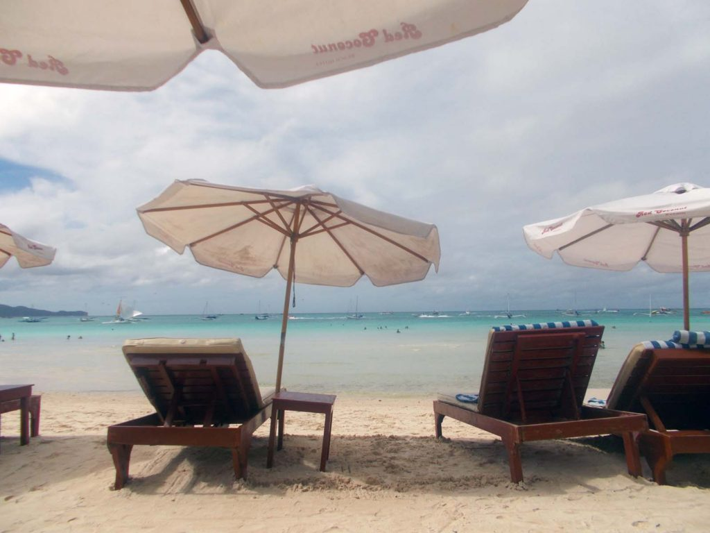 beach at Boracay