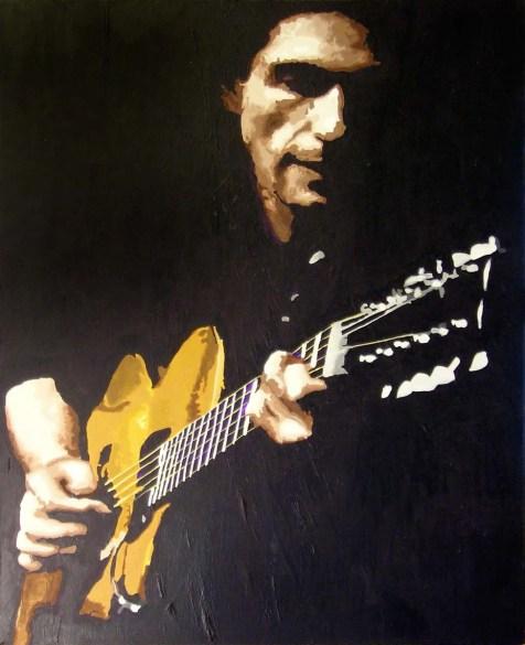 """Evening Entertainment"" 2003 - Acrylic on Canvas"