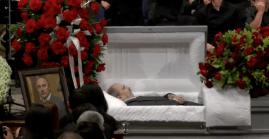 Mircea Bembea Funeral