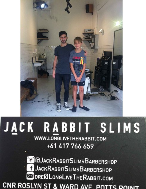 The new pioneers of business. Jack Rabbit Slims. Kings Cross Sydney