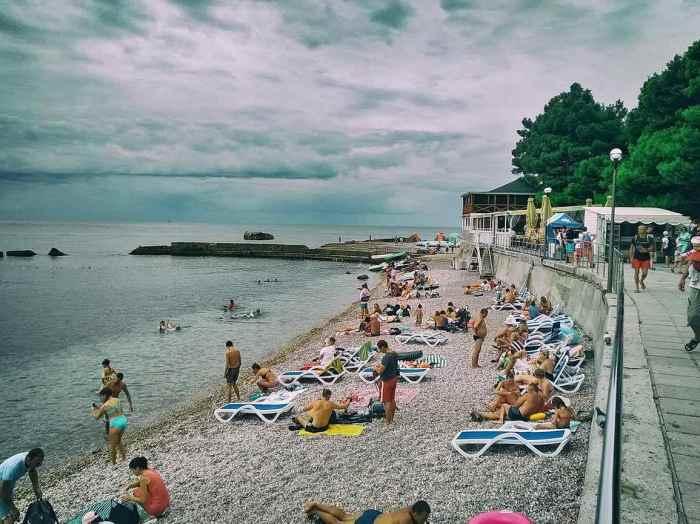 Фото пляжа Холодного Форос