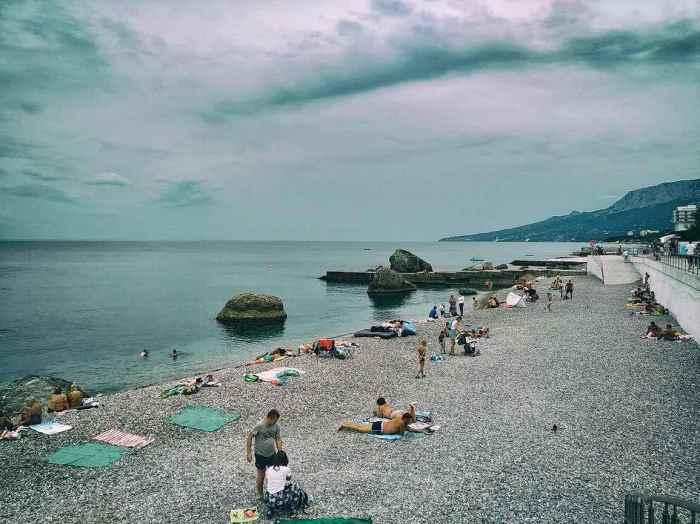 Фото пляжа Холодного Форос3