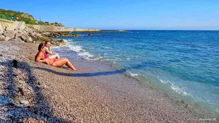 Фото дикого пляжа Понизовка3