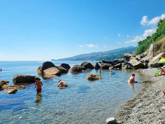 Фото пляжа Зелёный мыс Алупка2