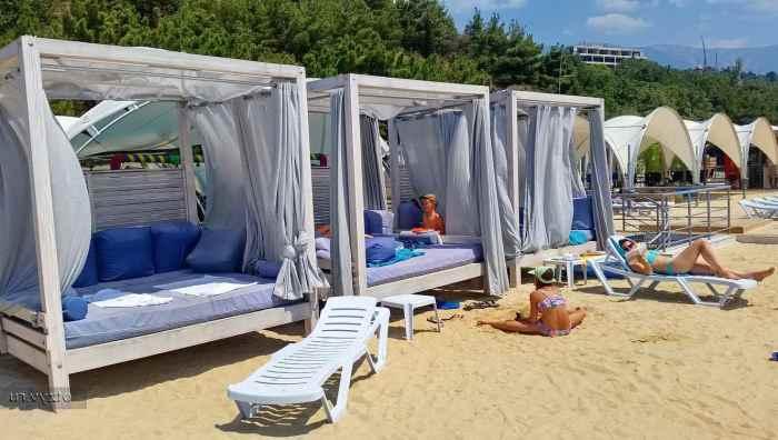Фото пляжа КЧФ Ялта