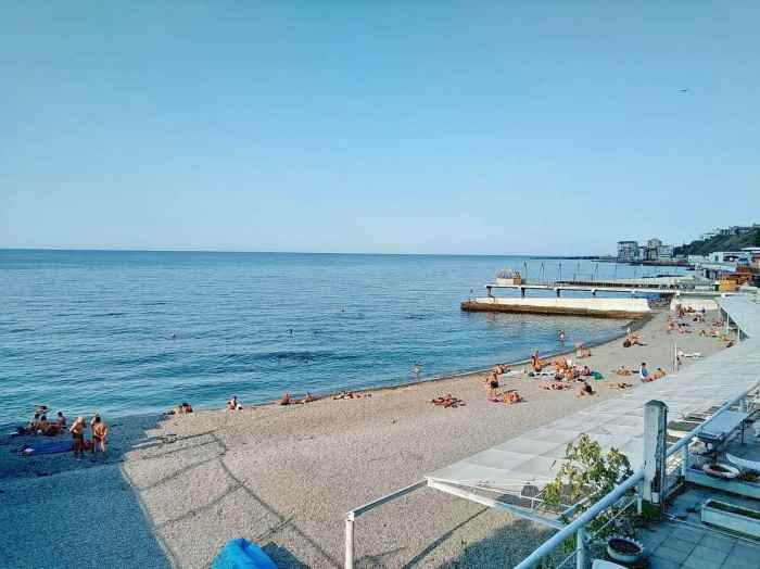 Фото пляжа Соляриус Массандра