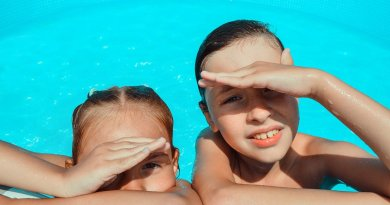 Pool Kids Swim Summer Vacation  - Victoria_Borodinova / Pixabay