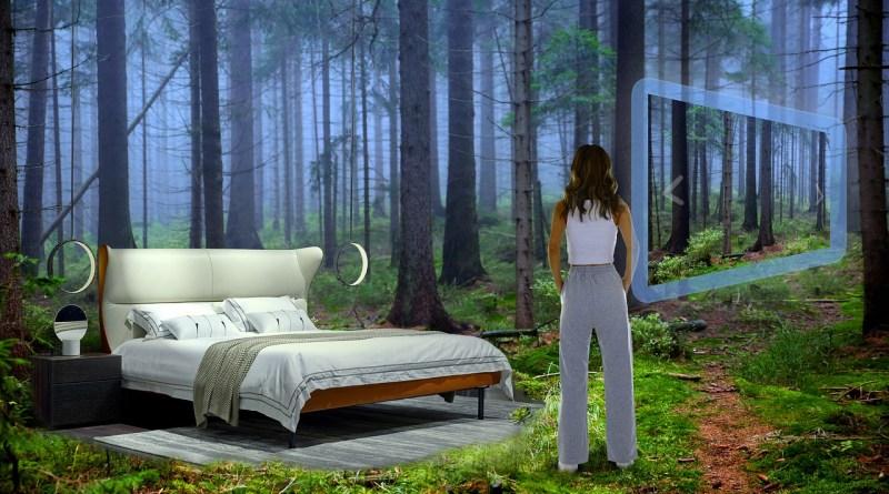 Virtual Reality Bedroom Screen  - ImaArtist / Pixabay