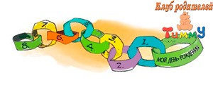 Развитие ребенка 5-6 лет: цепочка
