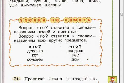 Русский язык. 1 класс (страница 2)