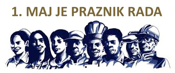 Image result for 1 maj praznik rada