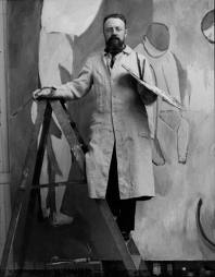 Matisse and his painting smock