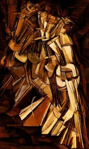 Marcel Duchamp - Nude Descending a Staircase No 2