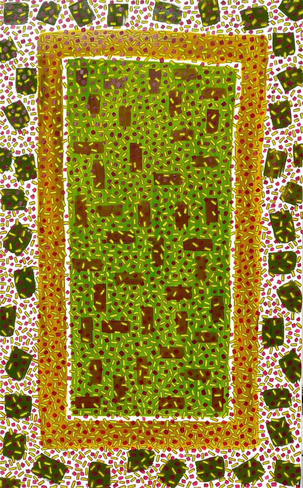 Rosetta Window Rod Jones Artist