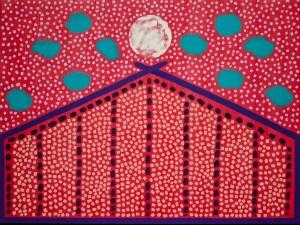 Moonrise Over Santa Fe Rod Jones Artist
