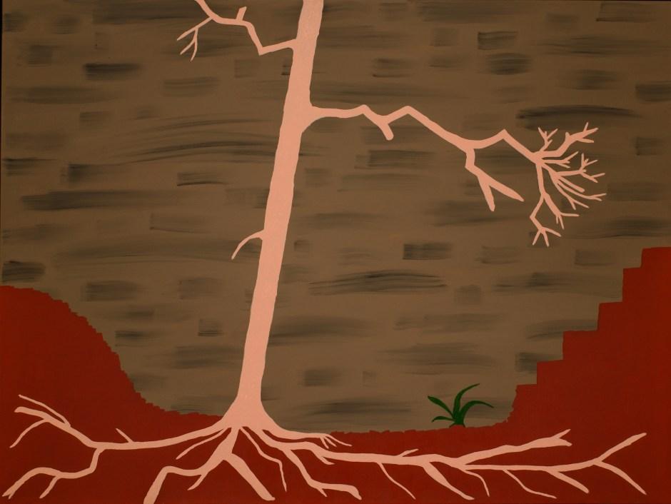 Imaginary Tree - Oil on Canvas