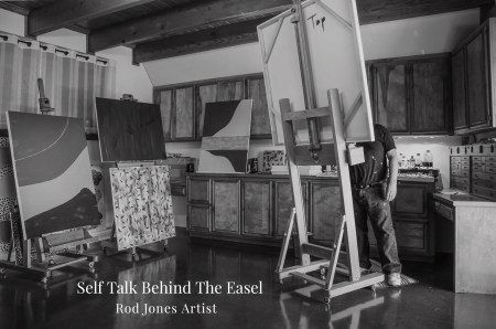 Rod Jones Artist Behind the Easel