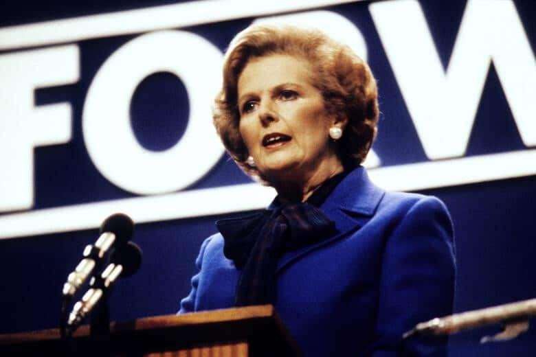 Lady Thatcher's Valedictory