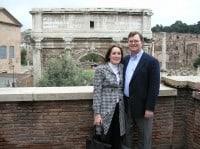 Rod & Sherri at the Roman Forum