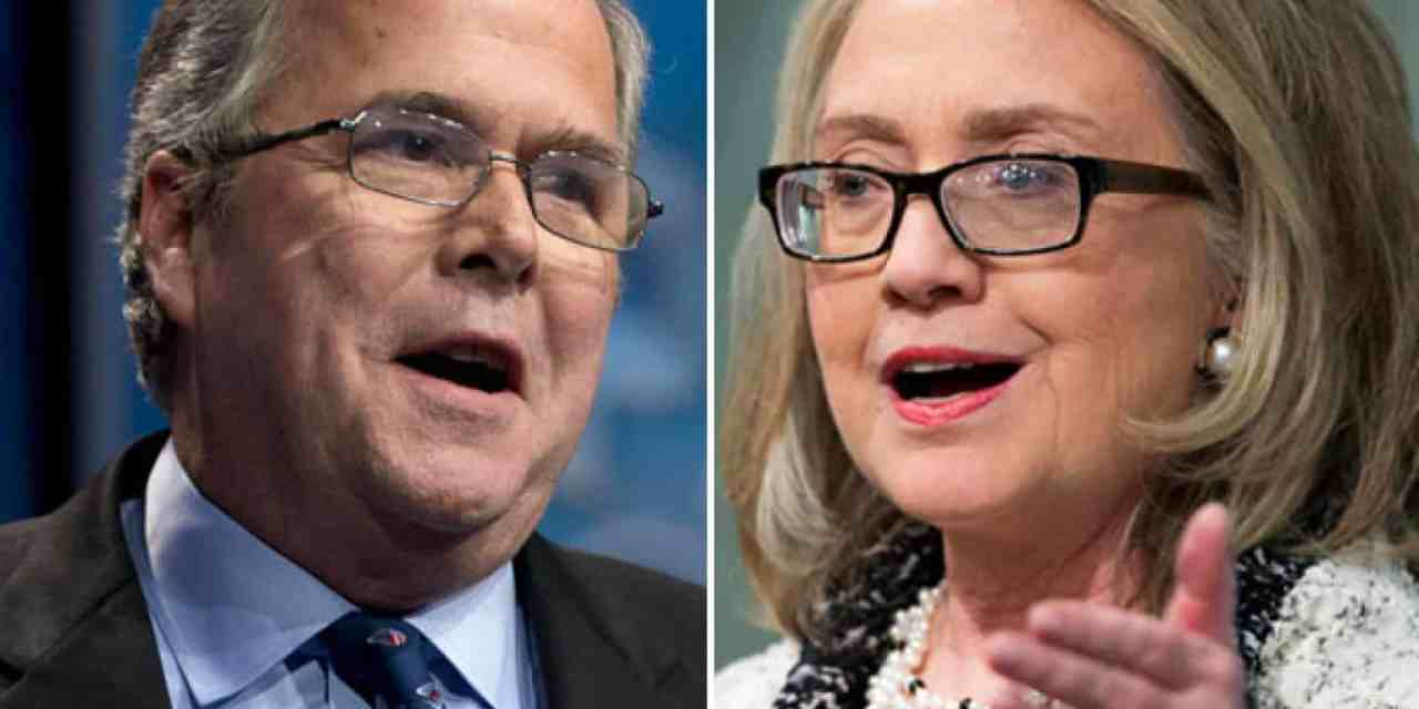 "Jeb and Hillary: The Two-Edged Sword of ""Inevitability"""