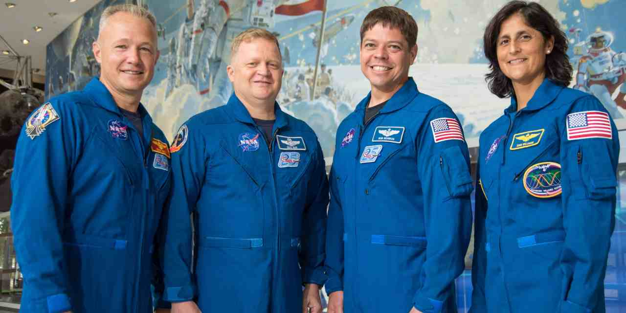 NASA Selects Astronauts for First U.S. Commercial Space Flights