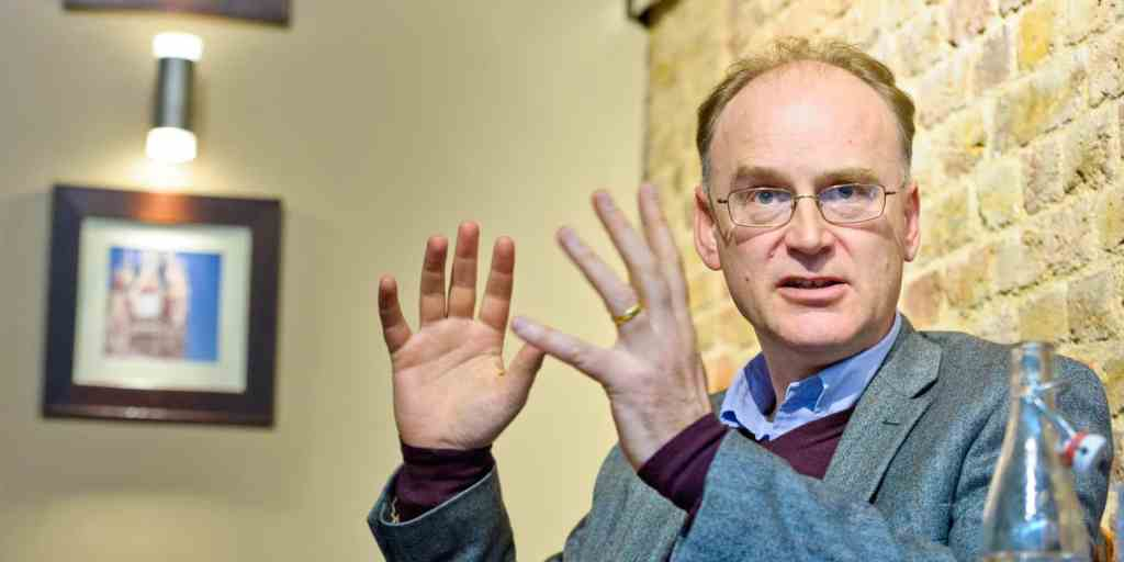 Matt Ridley is seen at St Pancras on Friday, April 13th 2012 in London. The scientist and author was interviewed for MigrosMagazin. (Fiona Hanson/AP)