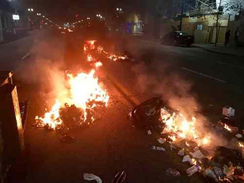 Democrat Riots, Nov. 2016