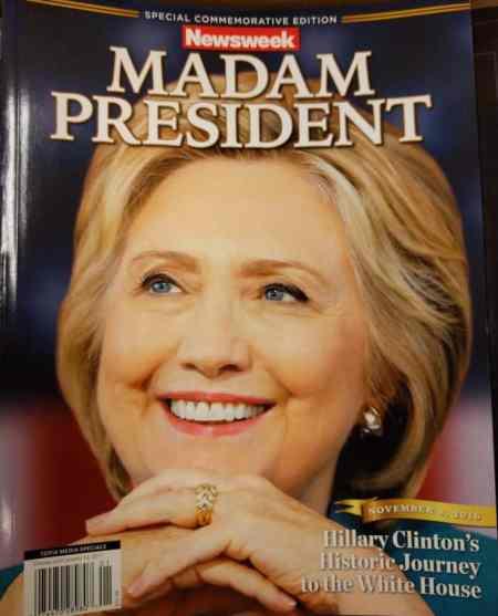 """Newsweek """"Madam President"""""""