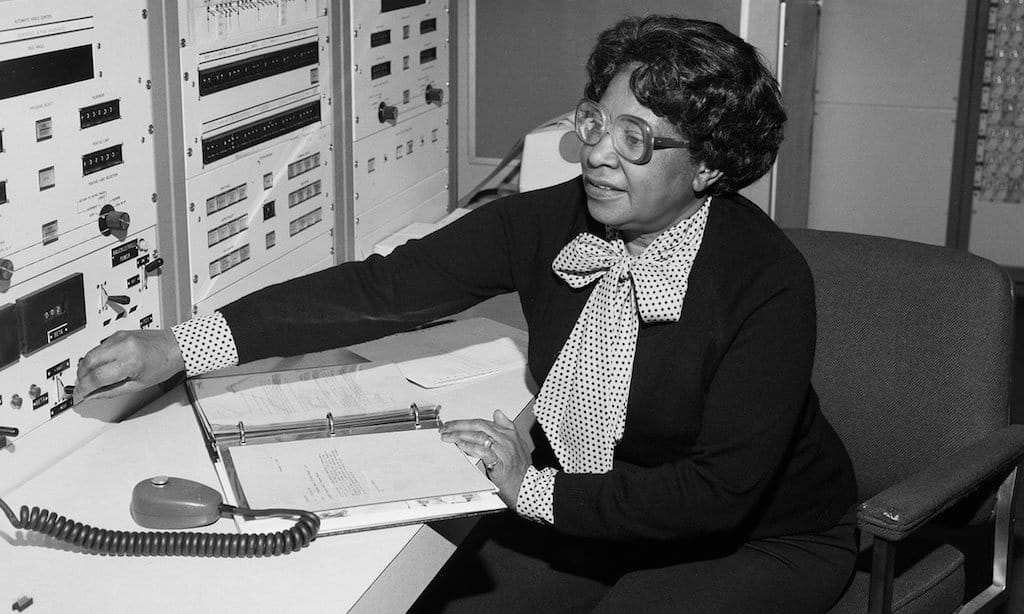 Mary Jackson at NASA Langley Research Centre. Photograph: Bob Nye/NASA