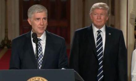 Trump Picks Gorsuch!