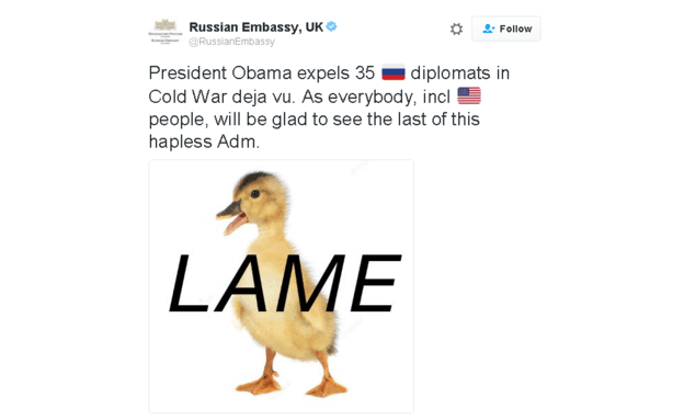 Lame Duck Opportunity