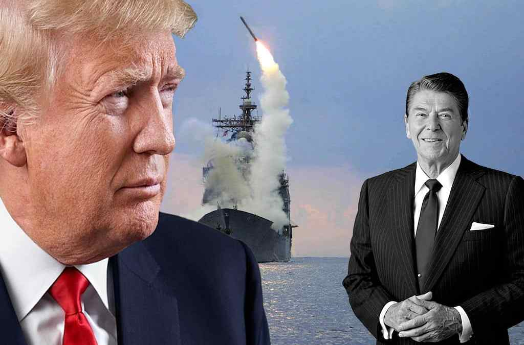 Presidents Trump and Reagan: Syria and Libya