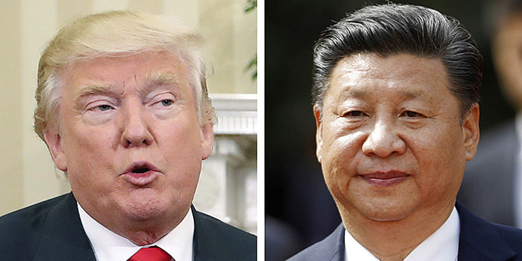 Trump and Xi Take Center Stage
