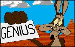 Wile E Coyote Super Genius