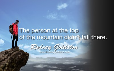 Climbing Is Always Hard Work