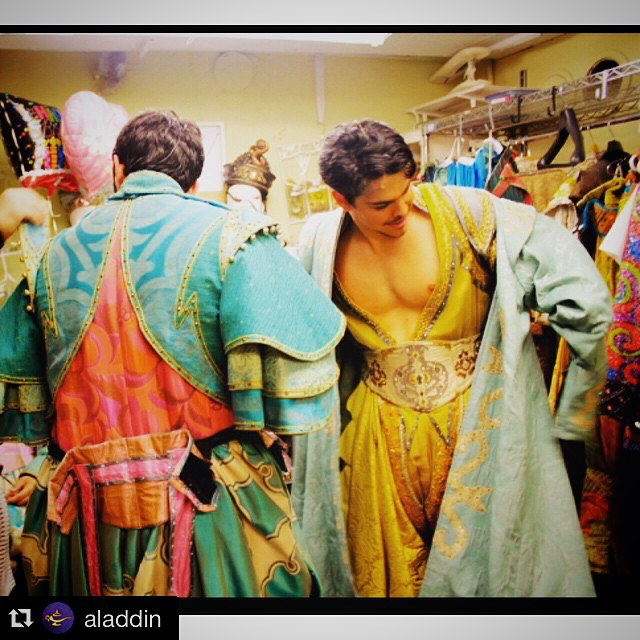 rodney-ingram-aladdin-broadway-costume Rodney Ingram, Aladdin Broadway ensemble and Aladdin understudy pc :: Disney Theatrical