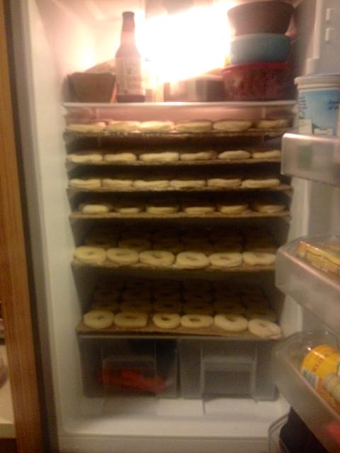 homemade-gourmet-doughnuts-refrigerator