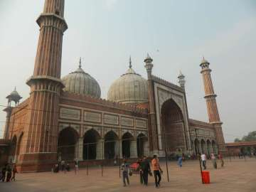 The Jama Masjid Mosque (Completed in 1656)