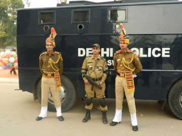Police at India Gate
