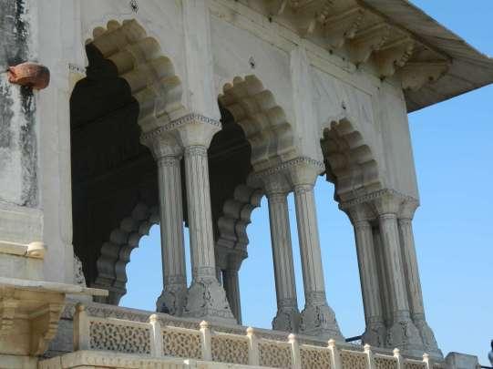 Inside Red Fort, Agra