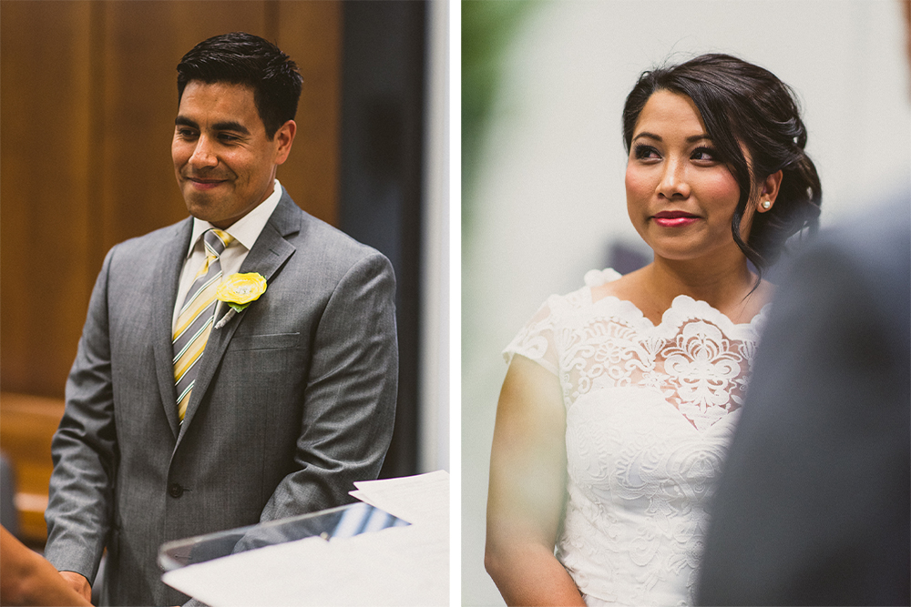 007- Cynthia and David - Beverly HIll Courthouse Wedding