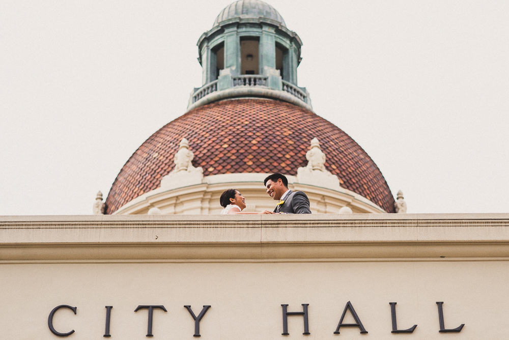 020- Cynthia and David - Beverly HIll Courthouse Wedding