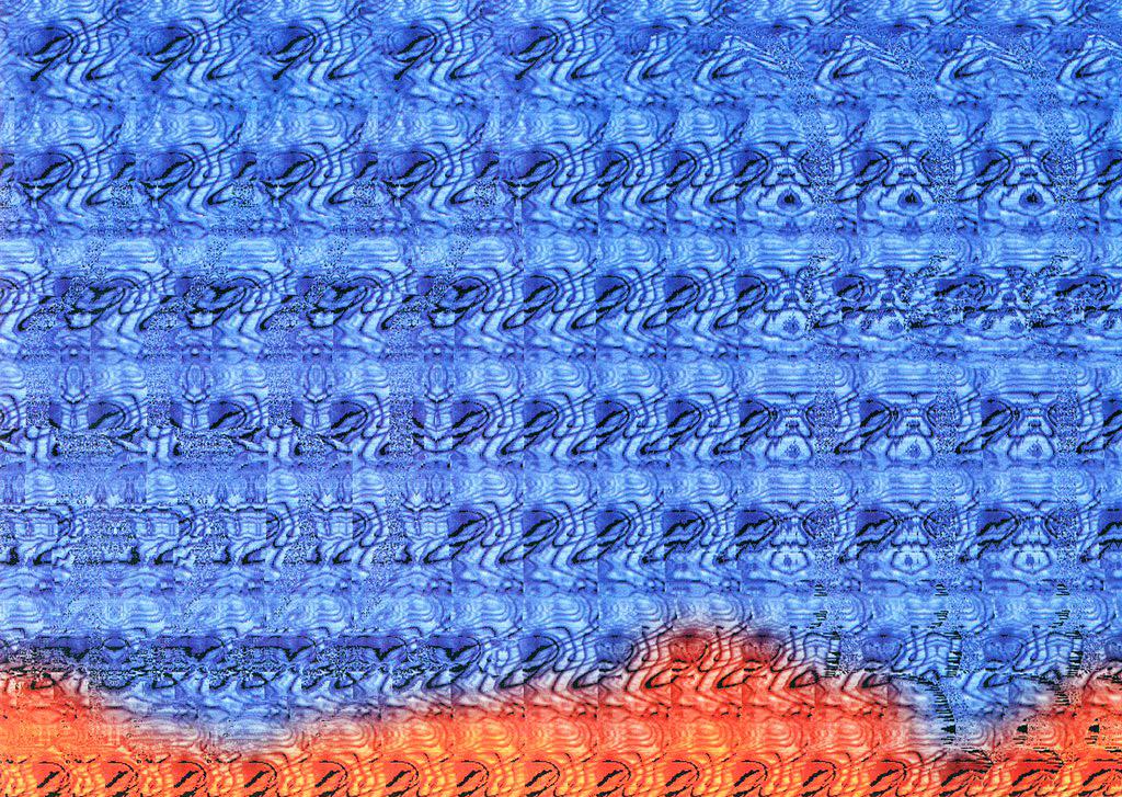 Днем рождения, голограмма картинки для глаз