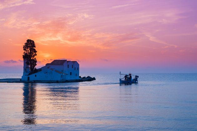 Places for an amazing sunset in Corfu!