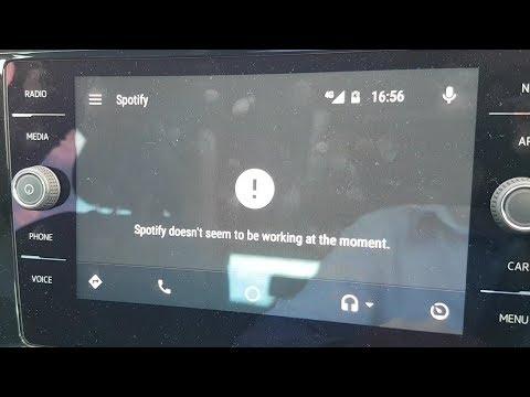Solución a error Spotify parece no estar funcionando en este momento