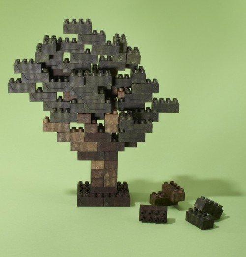 earth blocks lego ecologico 04 Earth Block   uma opção ecológica para quem gosta de Lego