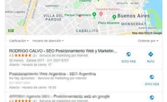 SEO en Buenos Aires